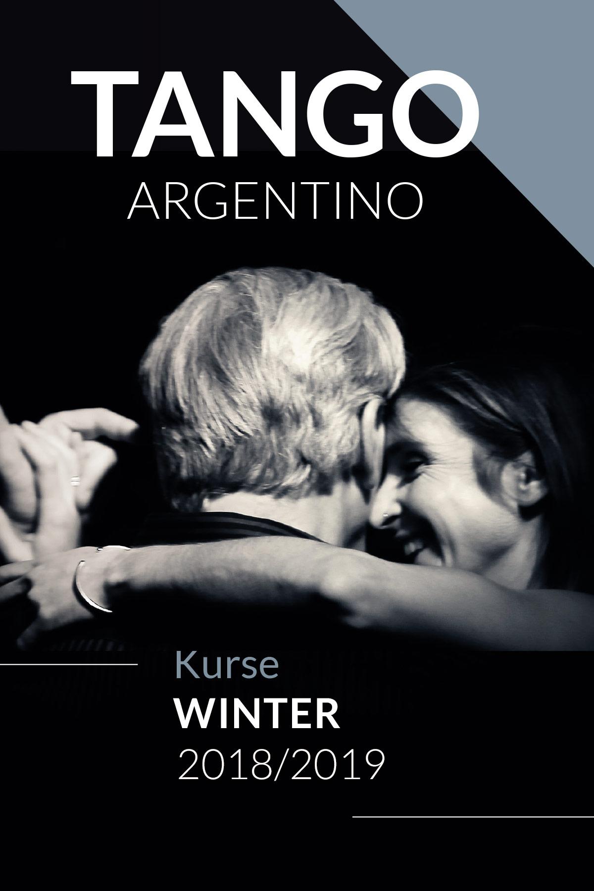 Tango Kursprogramm Winter 2018 2019